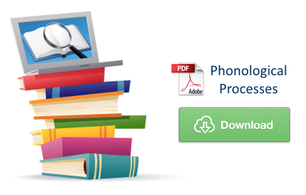 Download Phonological Processes PDF